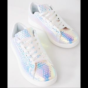 Liliana Shoes | 3d Holographic Sneakers